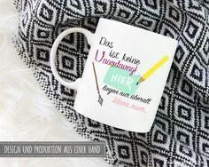 Becher & Tassen - Tasse | Das ist keine Unordnung - ein Designerstück von Dr_Grazer_und_Co bei DaWanda Rum, Etsy, Design, Tumbler Cups, Clutter, Rome, Design Comics