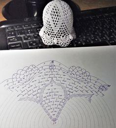 Crochet Snowflakes, Crochet Flowers, Mittens, Crochet Patterns, Crochet Hats, Knitting, Christmas, Diy, Crochet Ornaments