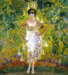 Ciudad de la pintura - CAMARASA, Hermen Anglada Spanish (1871-1959)_Marieta Ayerza de González Garaño 1924.
