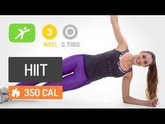 Acelere seu metabolismo em 10 minutos - Aula de Hiit Intensa - YouTube