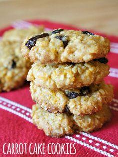 Carrot Cake Cookies #Recipe. #Celiac #coeliac, use #glutenfree #Flour. If buying #StoreMade #Icing, pls confirm #glutenfree.