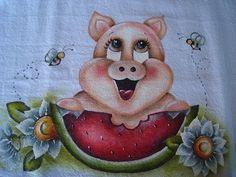 Pintura em pano de prato | Flickr - Photo Sharing!
