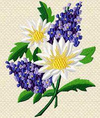 Machine Embroidery Design 'Lilac'