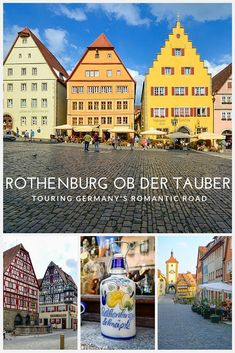 Take a road trip on Germany's Romantic Road... First Stop - Rothenburg!