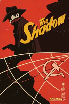 THE SHADOW #20 Cover Art by Francesco Francavilla THE SHADOW KNOWS…