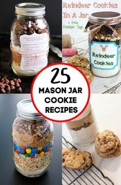 25 adorable mason jar cookie recipes easy recipes masonjar jar gifts recipes banana drop cookies theses are a light fluffy cookie and great for using up those overripe bananas! easy recipe too! Sprinkle Cookies, Mélanges Pour Cookies, Cookies Et Biscuits, Brownie Cookies, Chip Cookies, Mason Jar Cookie Mix Recipe, Mason Jar Mixes, Mason Jar Cookies, Cookie In A Jar