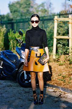 Vanessa Jackman: Paris Fashion Week SS 2015....Before Louis Vuitton