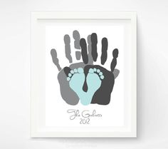 Love this but with sisters hands and baby feet.