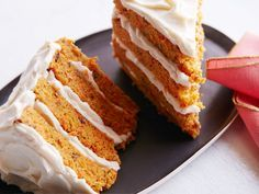 Carrot Cake for Two : A single sheet of carrot cake becomes two rich, four-layer slices in this easy recipe. Although the cream cheese frosting recipe is seriously pared down, it still leaves you with enough for two generously frosted slices.
