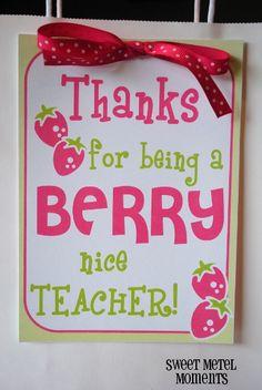 Love This Tag Teacher Gift For Teacher Appreciation Week