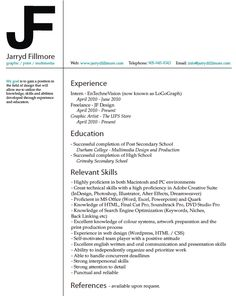 graphic design resume cover letter