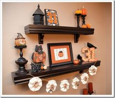 Like the idea of candle holders to display mini pumpkins/gourds