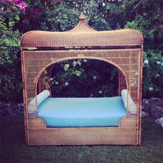 Moon to Moon: Recline on Rattan Beds...