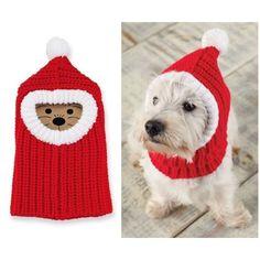 santa hat for dogs crochet pattern s. santa hat for dogs crochet pattern santa hat for dogs c Dog Sweater Pattern, Crochet Dog Sweater, Dog Pattern, Knitting Projects, Crochet Projects, Knitting Patterns, Crochet Patterns, Crochet Dog Hat Free Pattern, Crochet Ideas