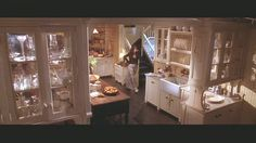 Practical Magic  The kitchen is perfect.  This is a four photo set.