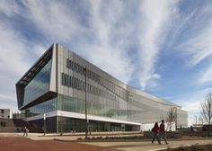 James B. Hunt Jr. Library by Snøhetta at North Carolina State University with a robotic book retrieval system and a 3D printing workshop.