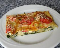 Spinat-Tomate-Feta-Börek vom Blech | Chefkoch.de