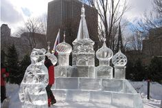 ice sculptures | winterlude ice sculptures winterlude ice sculptures at night admire ...