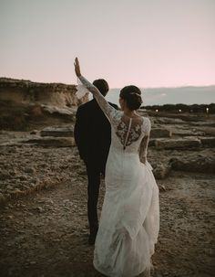 Charming & Traditional Apulia Wedding With A Modern Twist - Wilkie: From the lace to the buttons, every detail of the back of this brides dress is perfect!