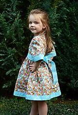 Detské oblečenie - Dievčenské šaty - Krasotinka - 5714083_