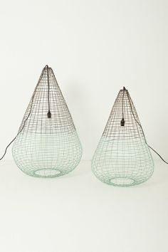 Woven Wire Pendant Lamp - Anthropologie.com