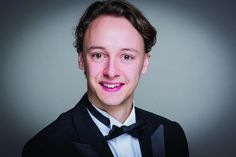 William Wallace, tenor, winner of the 2016 London Handel Singing Competition.