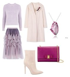 """""""Untitled #207"""" by rubysparks90 on Polyvore featuring Salvatore Ferragamo, Topshop, Dries Van Noten, Tory Burch, Steve Madden and Enduring Jewels"""