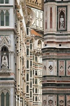 Basilica of Saint Mary of the Flower, Florence Cathedral, Italy.