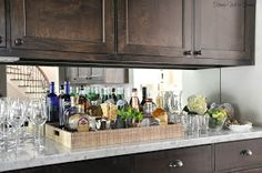 Honey We're Home: Bar Styling