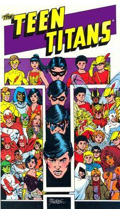 Novos Titãs (Teen Titans) - George Pérez