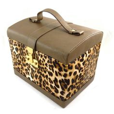 A proud owner of this leather vanity case by Les Trisley, France
