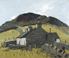 Cottage in the Fields - Kyffin Williams