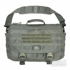 ENVOY Tactical Messenger Bag. Black