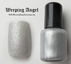Weeping Angel Nail Polish 8 ml Vegan Non-Toxic. $3.50, via Etsy.
