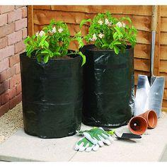 2pk Strawberry Potato Vegetable Bag Planter Garden Fruit Plant Grow Potato Bags
