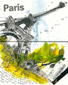Eiffel Tower by inmaserranito, via Flickr  INMA SERRANO