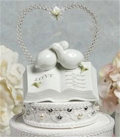 Christian Wedding Cake Toppers