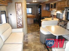 New Thor Chateau 33SW Diesel Super Class C Motorhome RV Interior