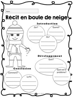 Stratégies de lecture: Étapes d'un récit French Teaching Resources, Teaching Writing, Writing Activities, Literacy And Numeracy, Education And Literacy, Teaching French Immersion, Grade 1 Reading, French Education, Core French