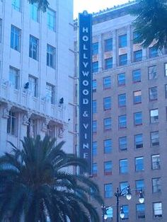 Hollywood and vine!!!