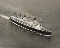 Cunard Line AQUITANIA, 1930s