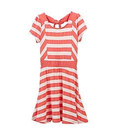 Copper Key 716 Stripe Dress #Dillards