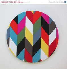 SALE  Mouse Pad mousepad / Mat  Round or rectangle   by Laa766  chic / cute / preppy / computer, desk accessories / cubical, office, home decor / co-worker, student gift / patterned design / match with coasters, wrist rests
