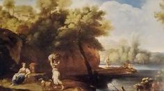 CARLO ANTONIO TAVELLA ( Milano 1668 - Genova 1738 ). PAESAGGIO CON FIGURE. olio su tela. 75 × 124 cm. Finarte, Milano. Dipinti Antichi. Asta 1138. 16 / 05 / 2001. Estimate : 30.000 - 35.000  €.