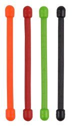 Nite Ize Original Gear Tie, Reusable Rubber Twist Tie, Assorted Colors, 4 Pack, Made in the USA Headphone Wrap, Power Hand Tools, Cord Organization, Goodie Bags, Travel Gifts, A 17, Travel Accessories, Holiday Fun, Stocking Stuffers
