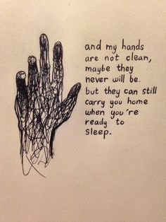 lyrics from 'sometimes I feel like nothing' by hotel books. by @maya876876