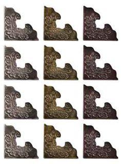 Tim Hotlz Idea-ology Mini Hardware Metal Knobs Decorative Ornaments Elements