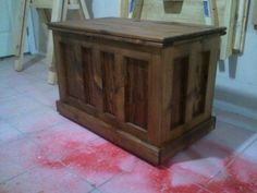 How To Build A Pocket Hole Blanket Chest