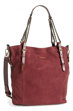 Liebeskind 'Fabala' Suede & Leather Tote available at #Nordstrom