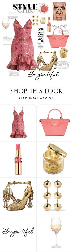 """Style Chic Elegance 💖💖"" by kercey ❤ liked on Polyvore featuring Zimmermann, Longchamp, Yves Saint Laurent, Peter Thomas Roth, Dolce&Gabbana, Balenciaga, Schone and RabLabs"